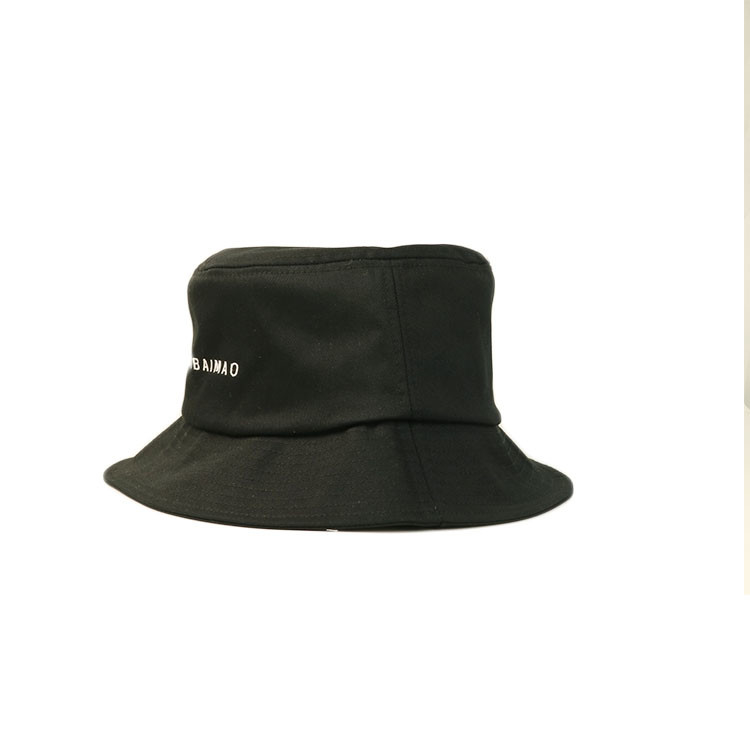 Upf 50+ Wide Brim Breathable Mesh Bucket Hat Polyester / Cotton Material